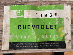 1965 Chevrolet Impala Users Guide