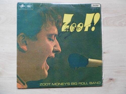 "Zoot Money Autogramm signed LP-Cover ""Zoot!"" Vinyl"