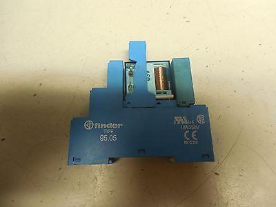 Finder Relay 44.52s 24vdc 6a A Amp 250v Volt 4452 W95.05 Base