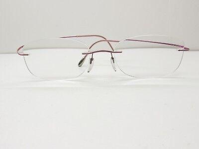 Silhouette EYEGLASSES FRAMES 53-18-135 Drill Mount Rimless TV6 (Drill Mount Eyeglasses)