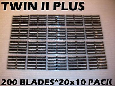 Persona Twin Ii Plus - 200 Blades (20 X 10 Pack)