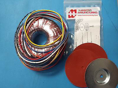 Power Transformer Xfrmr Toroidal 160va Chas Mount Hammond 182n22