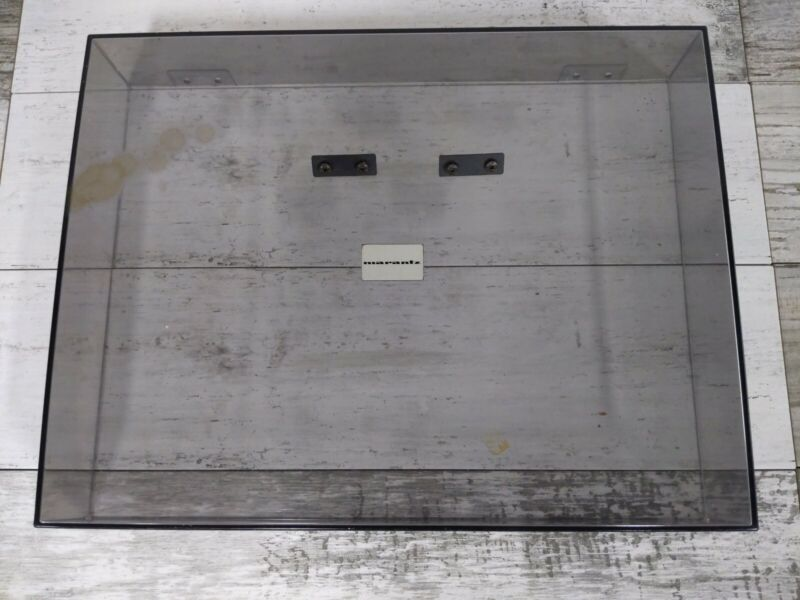 Vintage Marantz 6170 Turntable Replacement Dust Cover With Mounting Hardware
