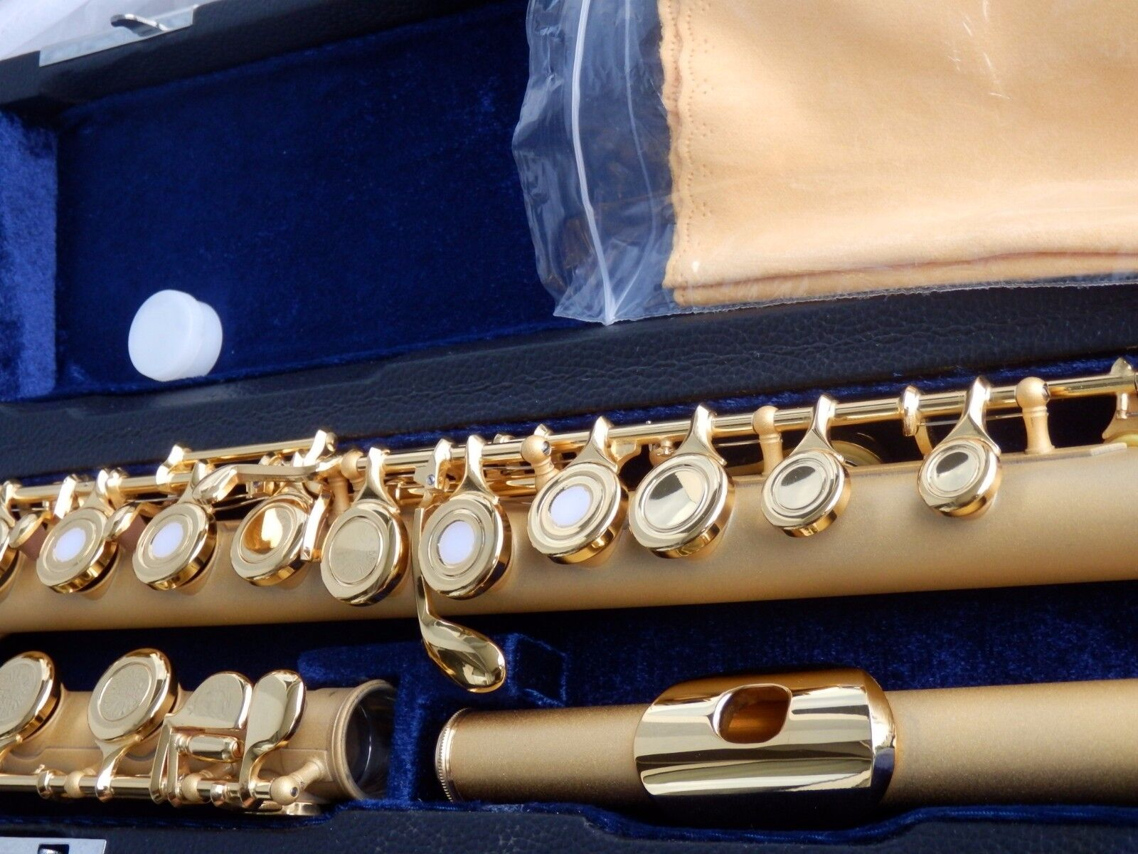 Luxury flute gold 24ct flauto d 39 oro fl te traversi re for Housse flute traversiere