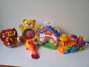3 Fisher Price (2 musical ) and 2 other toys. Wantirna Knox Area Preview