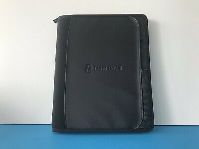 Portfolio Folder Business Notepad Holder Professional Organizer Folio Zippered