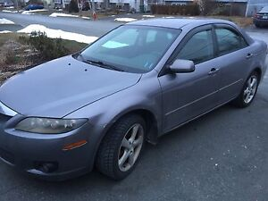 2006 MAZDA 6 WITH VALID INSPECTION
