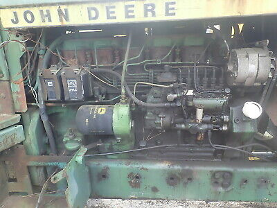John Deere 6404t Diesel Engine Runs Mint 4430 Tractor 6-404 Turbo Inline Pump