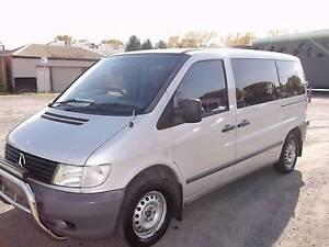 2002 Mercedes-Benz Vito Van/Minivan Bacchus Marsh Moorabool Area Preview