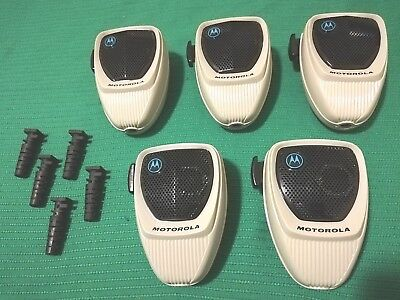 LOT of 5 Motorola HMN1052A Radio Microphones for Astro Spectra MaraTrac UNTESTED. Buy it now for 35.0