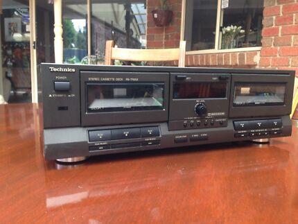 Technics RS-TR252 Stereo cassette deck
