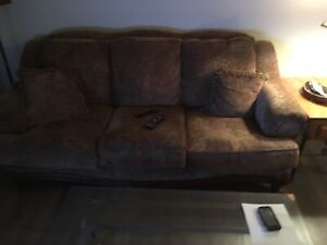 Sofa & chair/ottoman $800