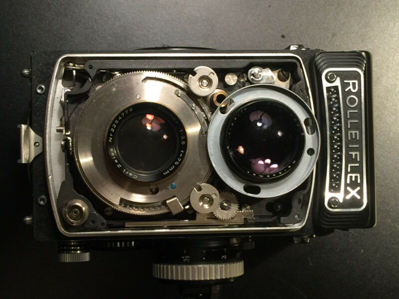 CLA service for Rolleiflex 3.5 F Type 1 TLR cameras