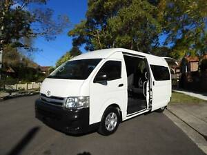 2012 TOYOTA HIACE COMMUTER BUS AUTO TURBO DIESEL MUST SEE Haberfield Ashfield Area Preview