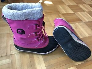 Botte d'hiver Sorel fillette 3.
