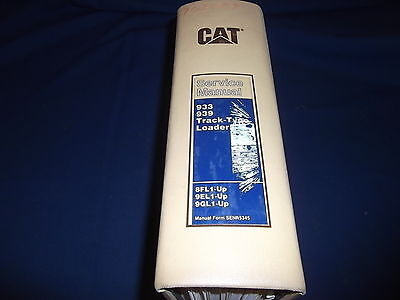 Cat Caterpillar 933 939 Track Loader Service Shop Repair Book Manual 8fl 9el 9gl