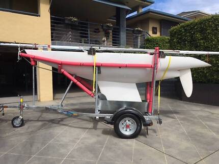 One person, able or disabled, racing or leisure sailing boat.