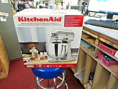 KitchenAid Artisan 5QT Tilt-Head Stand Mixer KSM150PSMC Metallic Chrome BRANDNEW
