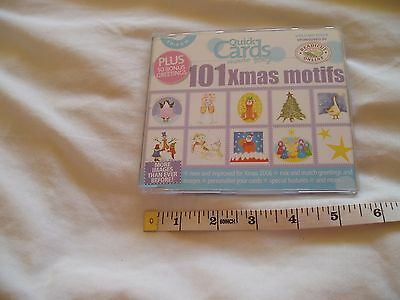 CD-ROM from Quick Cards - 101 Xmas Motifs