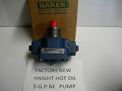 New Haight Hot Oil Filter Pump 5-gpm For Dean Keating Frymaster Pitco Fry Filter