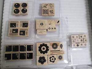 Stampin Up' rubber stamp bundle Yokine Stirling Area Preview