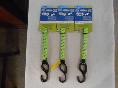 3 ROK Straps All Purpose Flat Tie Down Luggage Strap with hooks 18