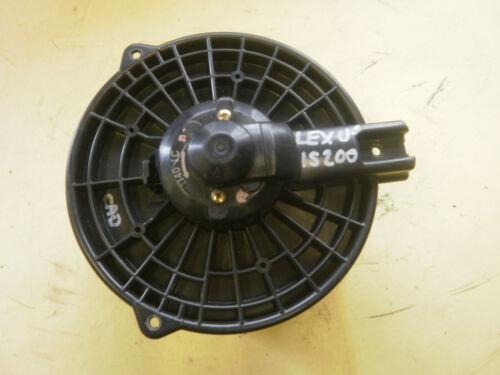 USED LEXUS IS200 HEATER BLOWER MOTOR FAN 99-2005 WITH AIR CON