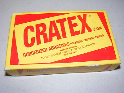 METAL FINISHING CRATEX ABRASIVES ROUND ROD 6X1//2 COARSE