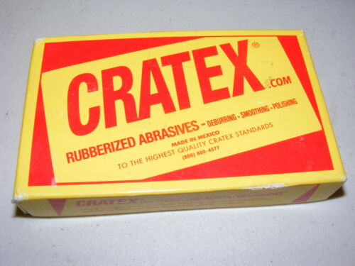 100 - Cratex Rubberized Abrasives 4F New Deburring Smoothing Polishing
