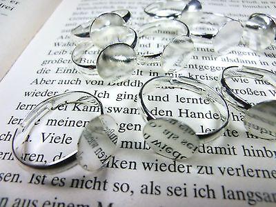 10 verstellbare Ringrohlinge mit Klebefläche Farbe silber #S400