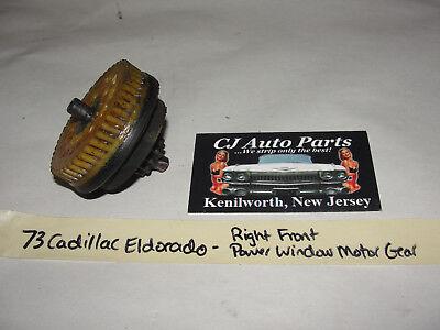 OEM 73 1973 Cadillac Eldorado RIGHT FRONT POWER WINDOW LIFT MOTOR REGULATOR GEAR