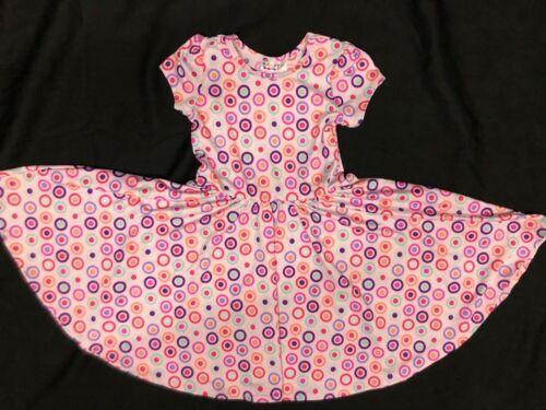 NEW Dot Dot Smile Twirl Dress Summer Knit Short sleeve Toddler Girl