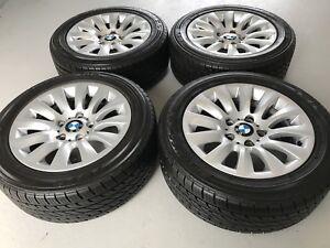 4 mags BMW original avec nouveaux pneus 205/55/16