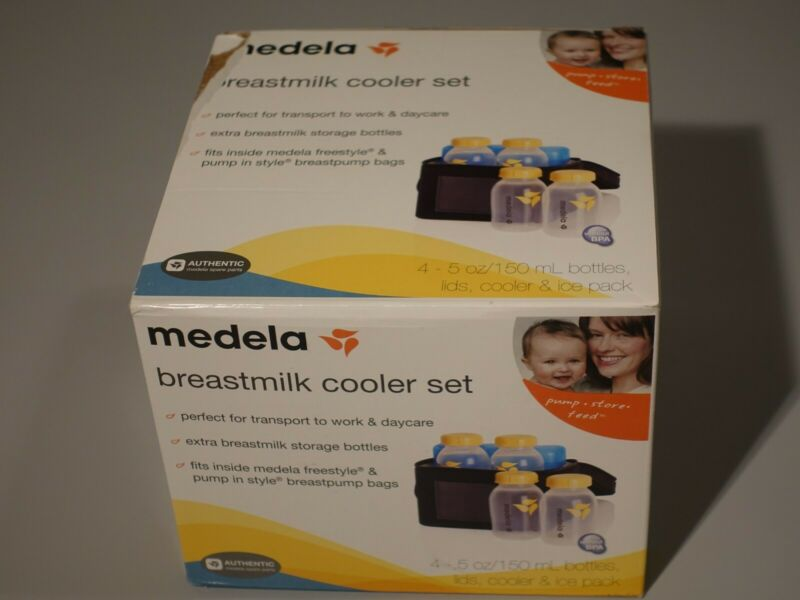 Medela Breastmilk Cooler Set-Open Box never used.
