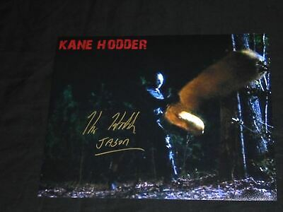 KANE HODDER Signed 8x10 Photo JASON VOORHEES Sleeping Bag