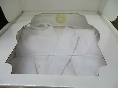 FIRST HOLY COMMUNION BOYS outfit WHITE SUIT & TIE heirloomed sealed](First Communion Boys Outfit)