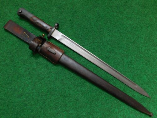 KINGDOM OF YUGOSLAVIA  M24 EXPORT BAYONET WITH SCABBARD AND FROG