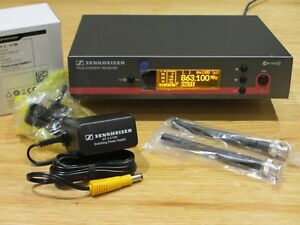 Sennheiser EW100 G3-E Wireless Microphone Receiver - UK License Free 823-865