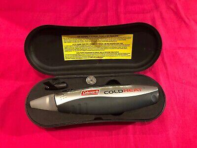 Coleman Cold Heat Soldering Gun Pen - Case - Solder - Tip