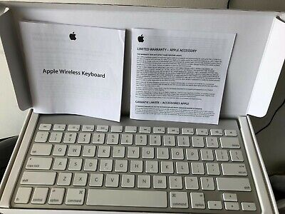 Apple wireless UK Qwerty Keyboard Bluetooth for iPhone iPad iMac