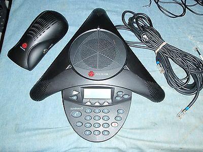 Polycom Soundstation 2 2201-16000-601 Conference Phone Refurb Warranty