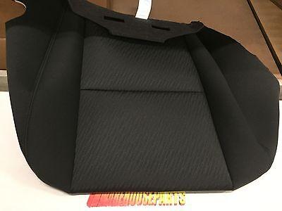 2010-2013 SILVERADO SIERRA TAHOE DRIVERS SEAT BOTTOM COVER BLACK NEW #  20833416