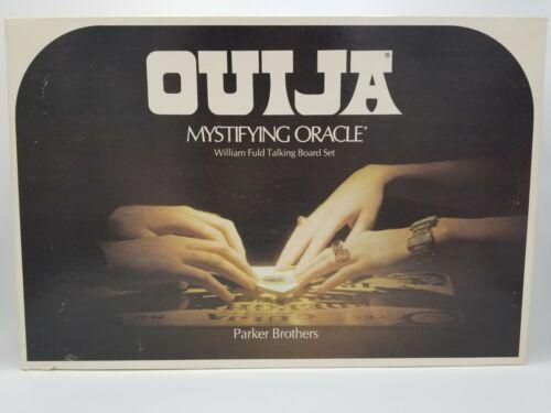 Vintage Ouija Board 1972 Parker Brothers Mystifying Oracle Spirit Complete - $27.99