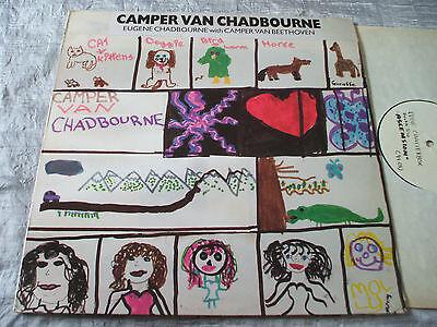 Camper Van Chadbourne RARE ORIG UK Fundamental LP Eugene Chadbourne VG+/EX+