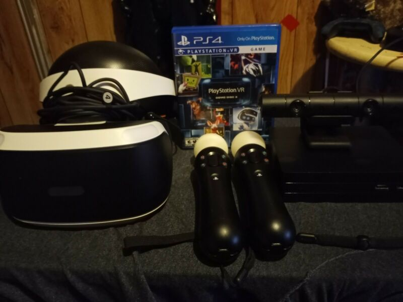 ps4 vr bundle used