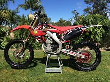 2013 Honda CRF250R Forestdale Logan Area Preview