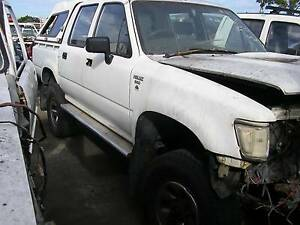 WRECKING LN106 TOYOTA HILUX 4X4 UTE  MANUAL $1 WHEEL NUT ONLY Brendale Pine Rivers Area Preview