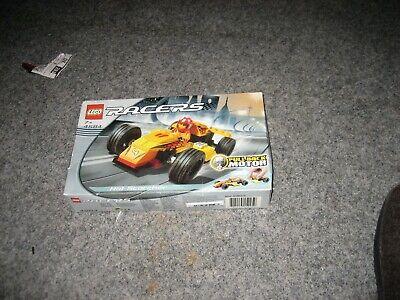 Lego Racers 4584 mit Pull Back Motor, der Karton hat Lagerspuren, UNGEÖFFNET
