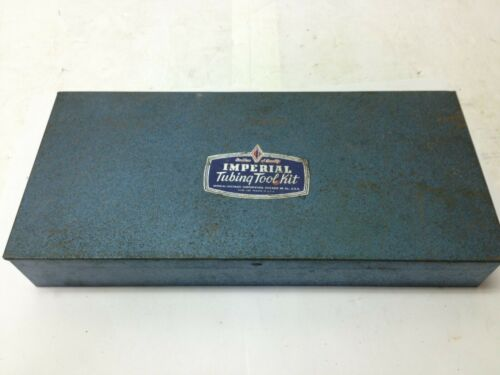 Imperial-Eastman Tubing Flaring Tool Kit No.121-FA w/cutter bender & ratchet USA