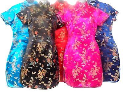Oriental Dress Chinese Japanese Kimono  Dress - Oriental Chinese Kostüm